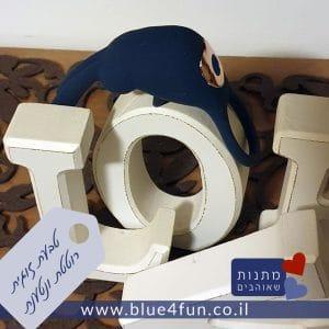 טבעת זוגית רוטטת נטענת ארנבון כחול
