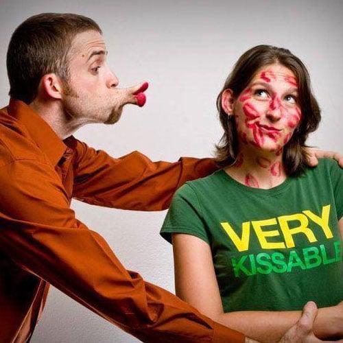 נשיקה ארוכה וטובה